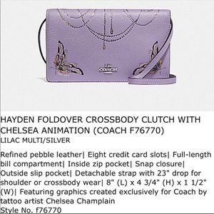 💐 Brand new Coach crossbody